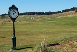 Chambers Bay Golf Course Clock