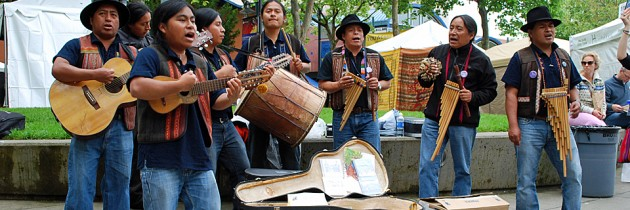 Northwest Folklife Festival at Seattle Center