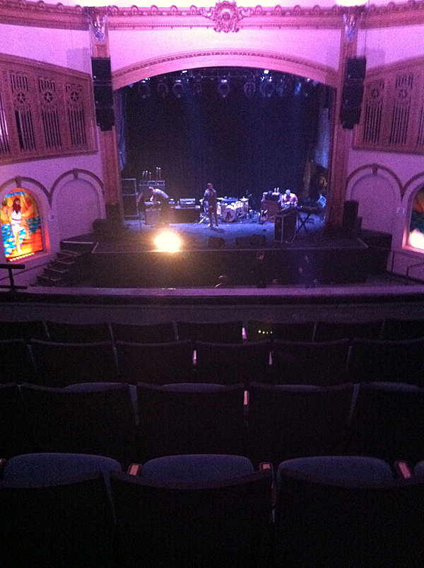 Watch a concert at the neptune theatre in seattle for Open balcony in a theatre