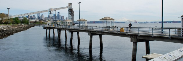 Elliott Bay Public Fishing Pier in Seattle