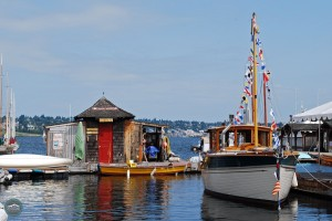 Center for Wooden Boats on Lake Union