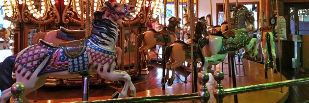 Seattle Waterfront Carousel at Miners Landing