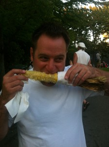 Bite of Seattle roasted corn