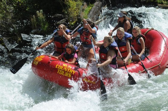 White Water Rafting on the Deschutes River