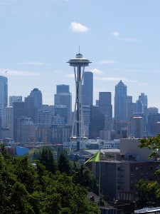 A view of the Seattle Space Needle from Kerry Park.