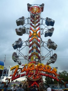 The Zipper ride at Washington State Fair
