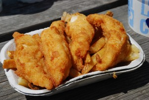 Ivar's classic fish 'n chips.
