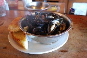 Penn Cove mussels from Toby's Tavern