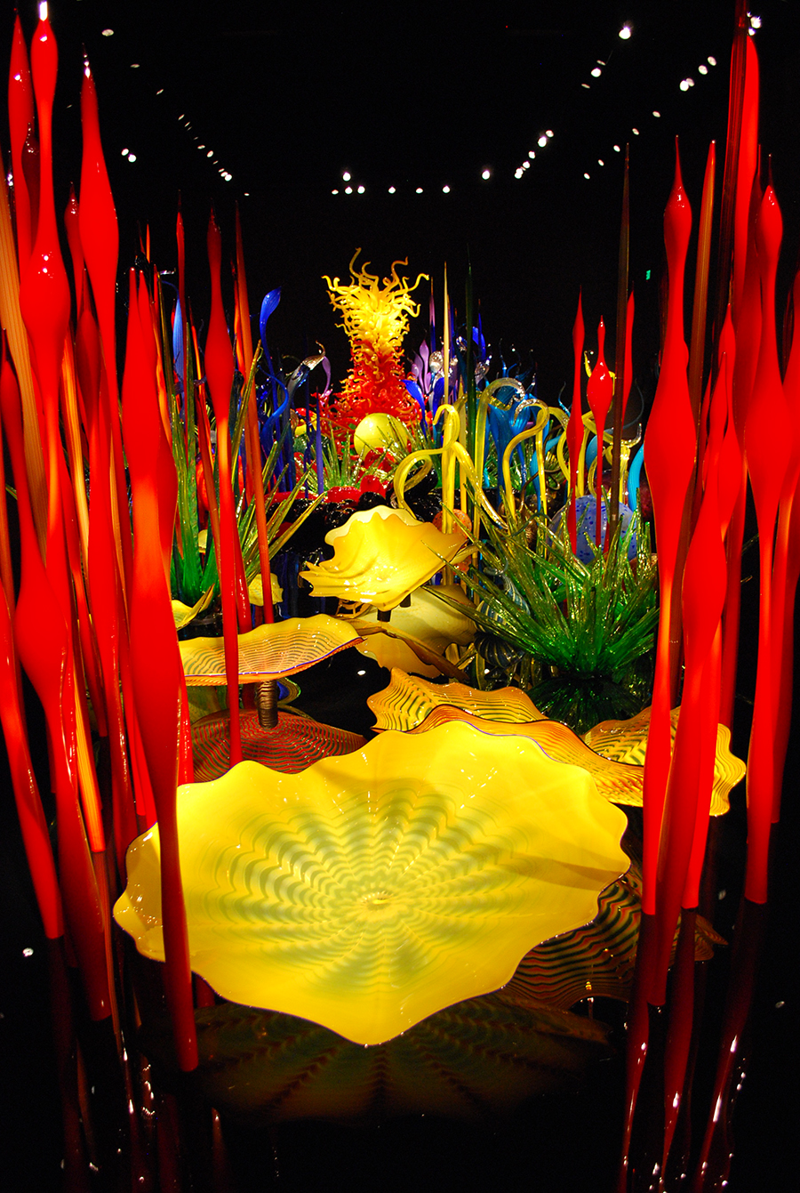 Chihuly Garden And Glass Date Night In Seattle Seattle