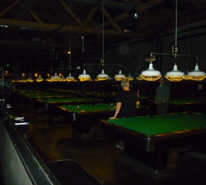 The Billiards room at Garage on Capitol Hill in Seattle