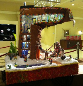Gingerbread Village Seattle Sheraton