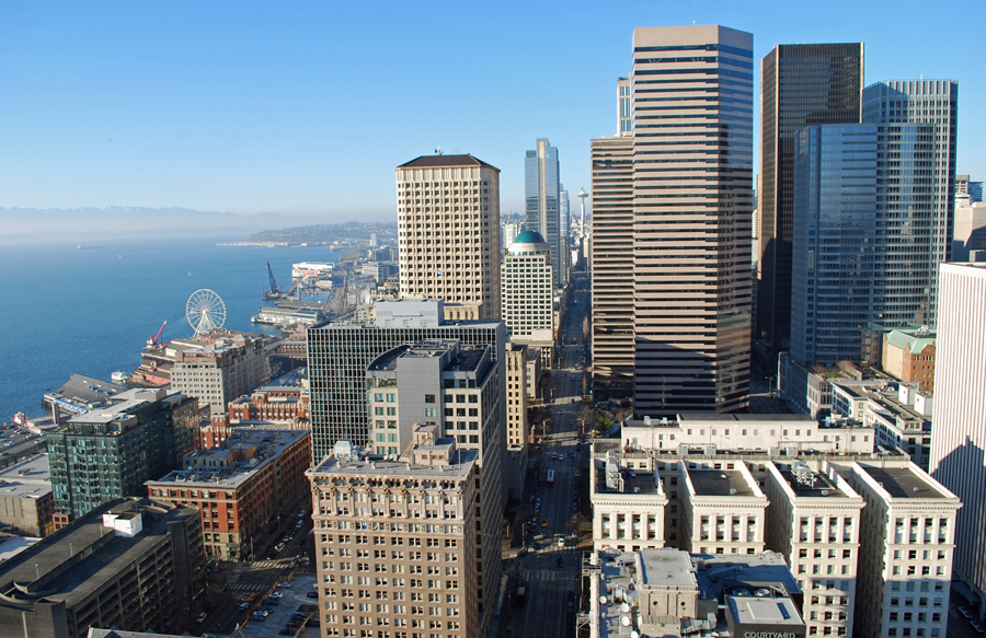 Smith Tower Observation Deck