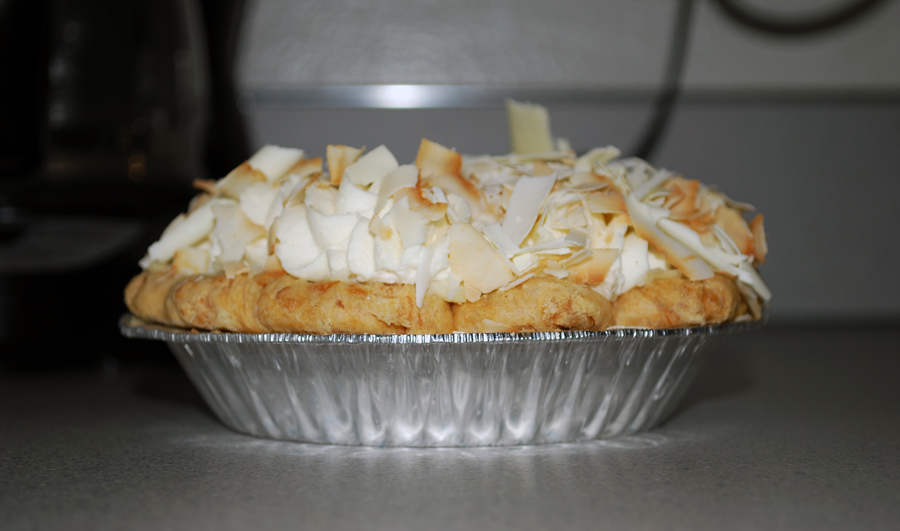 Dahlia Bakery | Triple Coconut Cream Pie