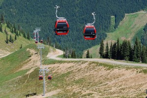 Mount Rainier Gondola at Crystal Mountain Resort