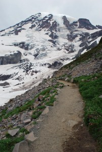 Pebble Creek hike mount rainier