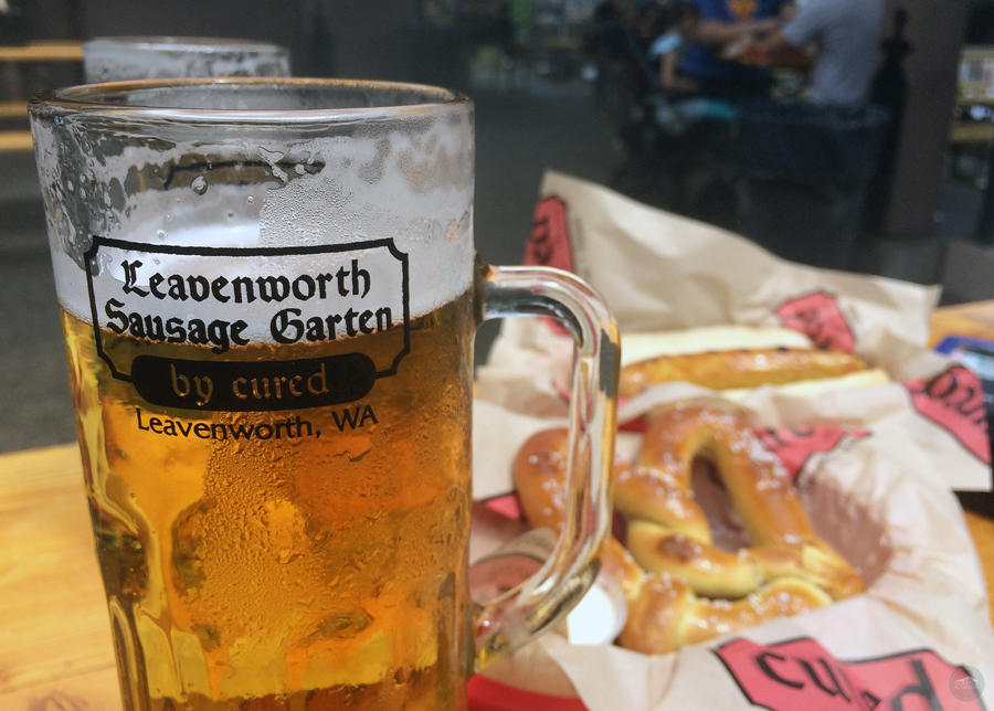 Leavenworth Sausage Garten