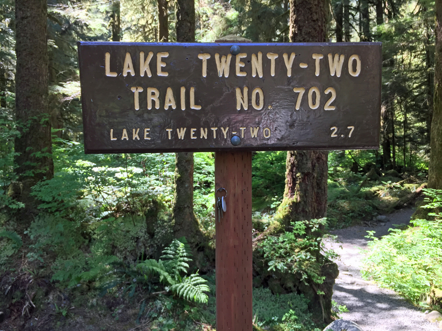 Lake Twenty Two Trailhead