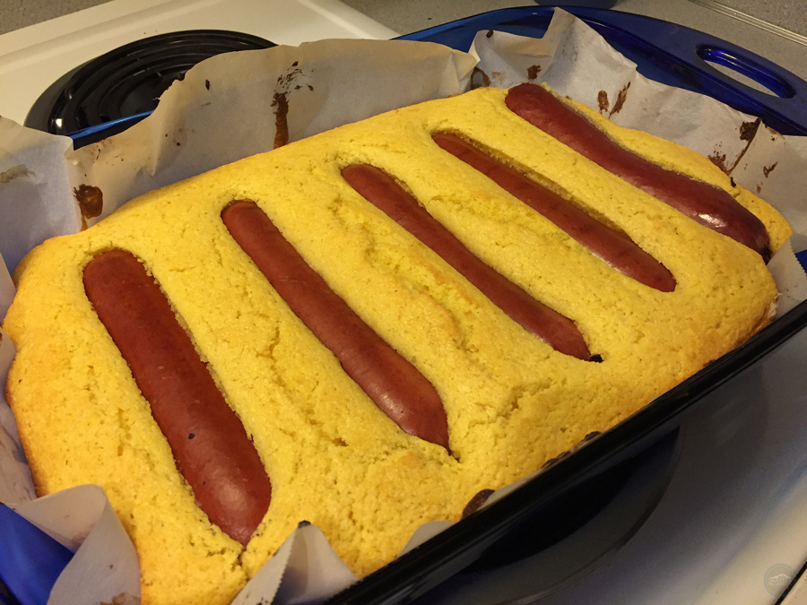 Cornbread Chili Dog Recipe