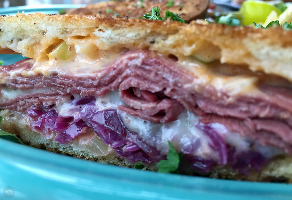 74th Street Ale House Reuben Sandwich