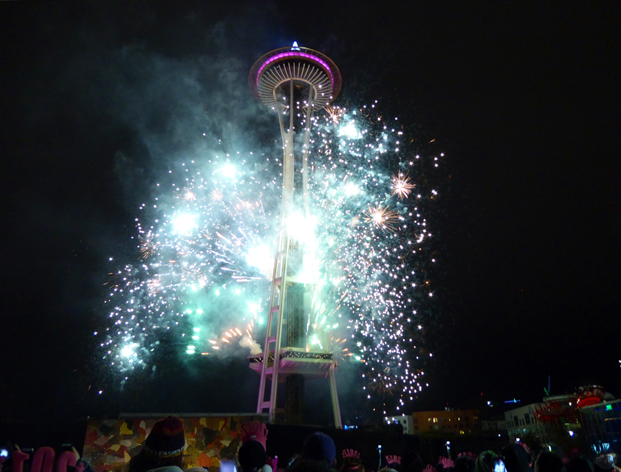 New Year's Eve Fireworks Seattle