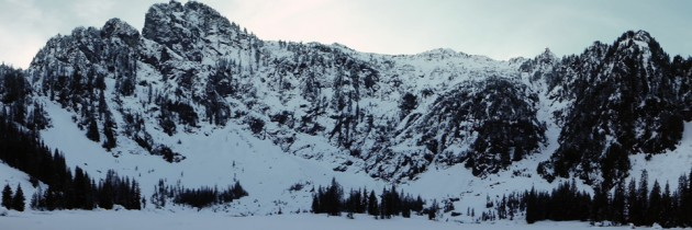Heather Lake | Winter Hiking in Washington