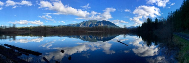 Borst Lake | Mount Si Reflection in Snoqualmie