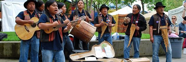 Northwest Folklife Festival at Seattle Center