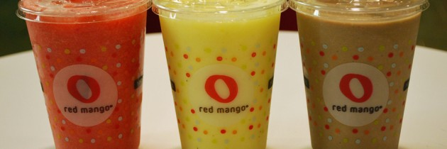Red Mango | New Frozen Yogurt Smoothies
