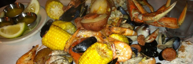 The Crab Pot | Seafood Served with a Hammer