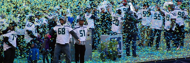 Seattle Seahawks Super Bowl Parade Pictures