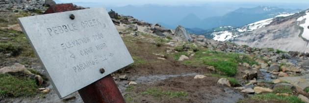 Pebble Creek Hike at Paradise on Mount Rainier