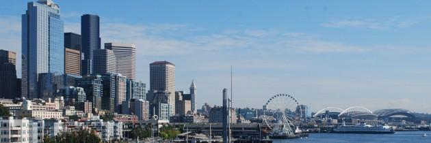 Bell Street Pier Rooftop Deck in Seattle