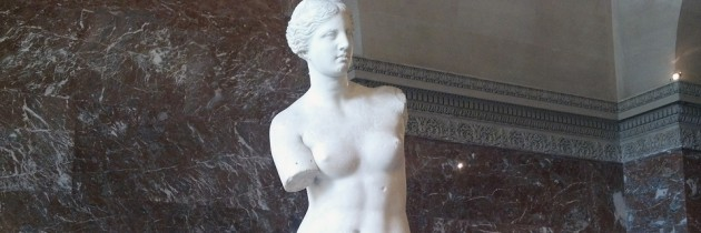 Venus de Milo at the Louvre in Paris