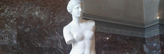 Venus de Milo at the Louvre in Paris