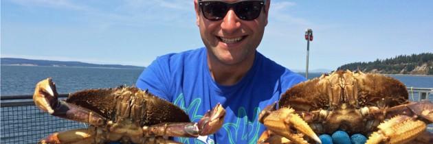 Crabbing at Kayak Point Regional Park