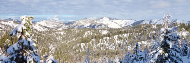 Wenatchee Crest Snowshoe at Blewett Pass